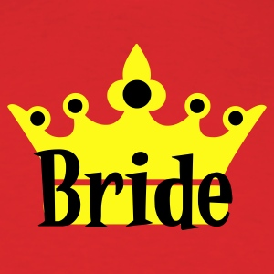 Red bride with crown T-Shirts - Men's T-Shirt
