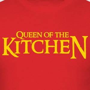 Red QUEEN OF THE KITCHEN T-Shirts - Men's T-Shirt