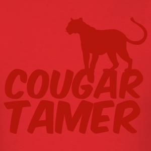 Red COUGAR TAMER T-Shirts - Men's T-Shirt