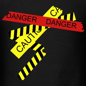 Black danger T-Shirts - Men's T-Shirt