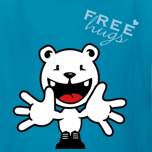 Royal blue free hugs (1c) Kids' Shirts - Kids' T-Shirt