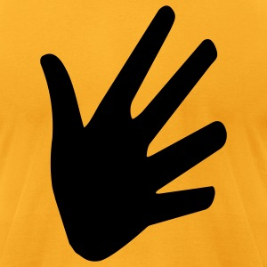 hand - Men's T-Shirt by American Apparel