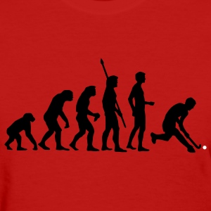 Red evolution_herren_hockey_2c Women's T-Shirts - Women's T-Shirt