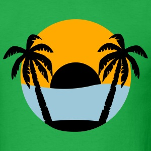 Bright green Island - Vacation T-Shirts - Men's T-Shirt