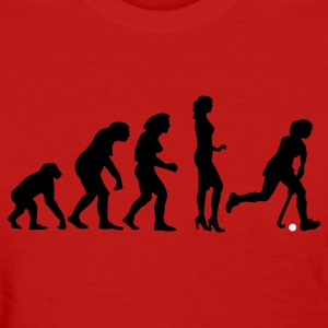 Red evolution_hockey_woman_a_2c Women's T-Shirts - Women's T-Shirt