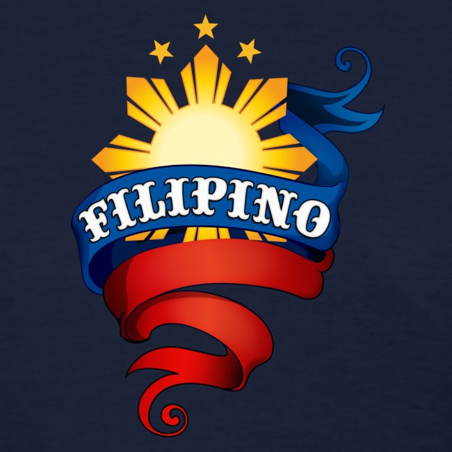 Standard Women's T-Shirt with Definitely Filipino Logo