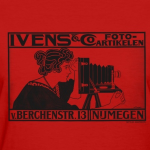Vintage Camera Ad - Women's T-Shirt