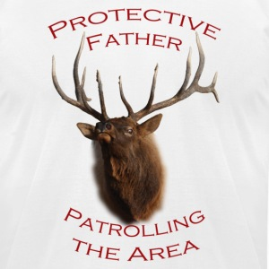 Protective Father - Men's T-Shirt by American Apparel