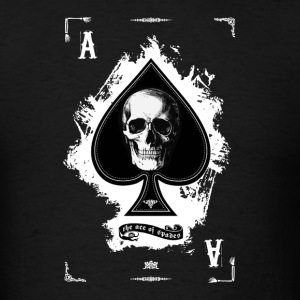 Black Death Ace T-Shirts - Men's T-Shirt