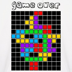 White tetris_game_over5 Hoodies