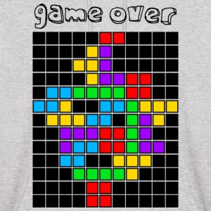 Ash  tetris_game_over5 Hoodies - Men's Hoodie