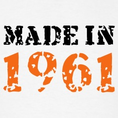 White Made in 1961 T-Shirts