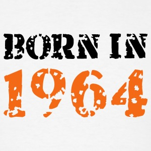 White Born in 1964 T-Shirts - Men's T-Shirt