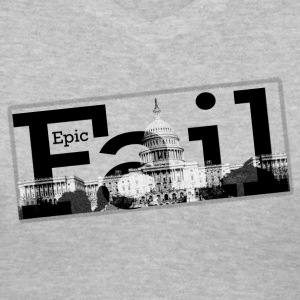 Epic Fail Capitol Women's V-Neck T-Shirt - Women's V-Neck T-Shirt