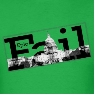 Epic Fail Capitol Men's Standard Weight T-Shirt - Men's T-Shirt