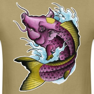 Koi-PIg - Men's T-Shirt