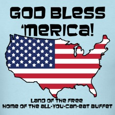 God Bless 'Merica! - Mens