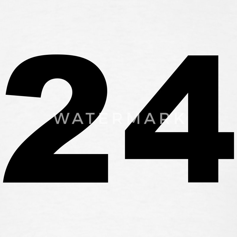 Number - 24 - Twenty-Four T-Shirt | Spreadshirt