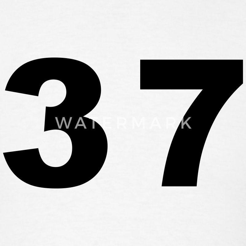 number   37   thirty seven t shirt spreadshirt