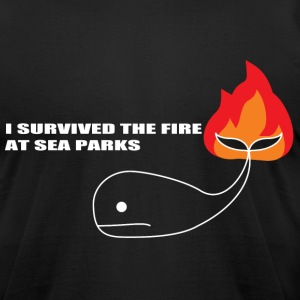 Black Sea Parks (it crowd) T-Shirts - Men's T-Shirt by American Apparel