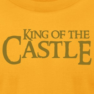 Gold king of the castle T-Shirts - Men's T-Shirt by American Apparel