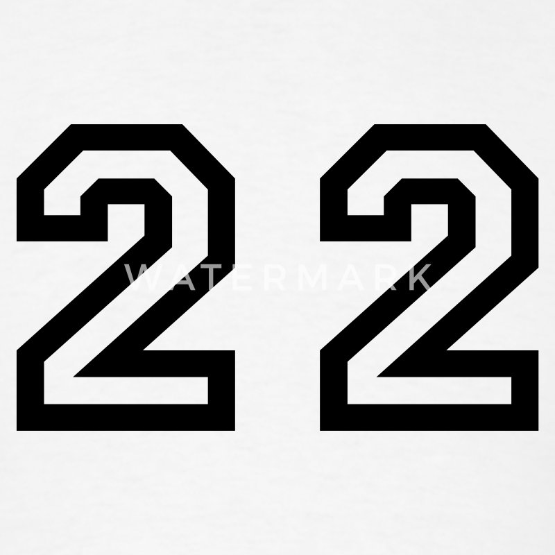 Number 22 Twenty Two T Shirt Spreadshirt
