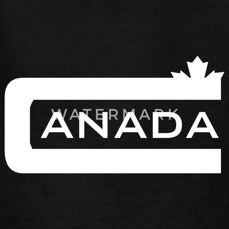Black C is for Canada Kids' Shirts - Kids' T-Shirt