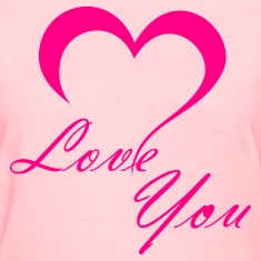 Love You T-shirts (manches courtes)