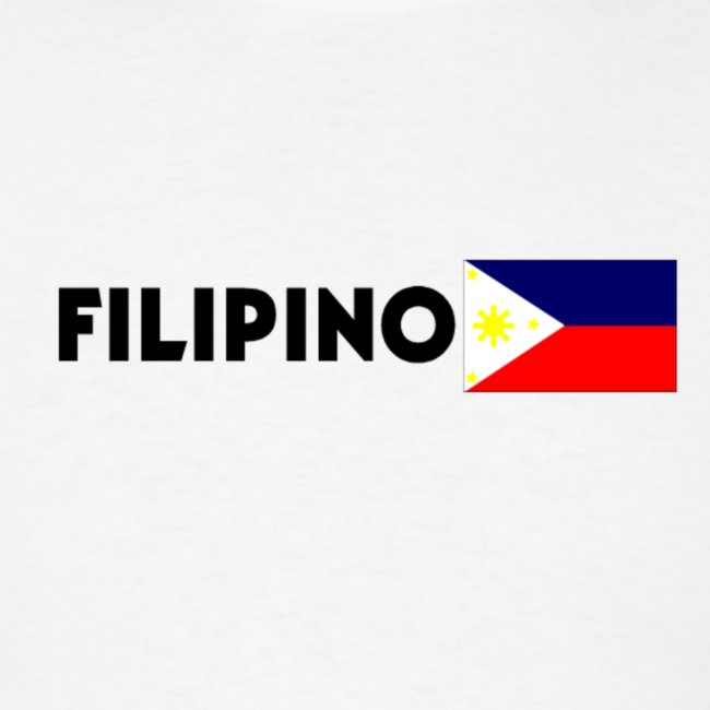 Filipino with Flag