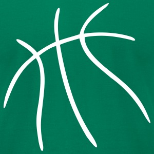 Kelly green Basketball T-Shirts - Men's T-Shirt by American Apparel