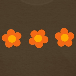 Brown Flowers Women's T-Shirts - Women's T-Shirt