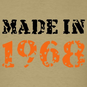 Khaki Made in 1968 T-Shirts - Men's T-Shirt