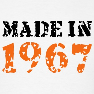White Made in 1967 T-Shirts - Men's T-Shirt