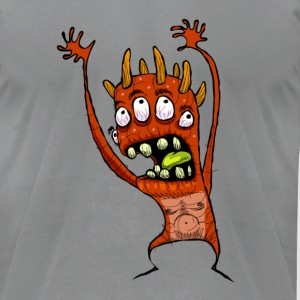 The Nervous Yargle - Men's T-Shirt by American Apparel