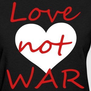Black love not war Women's T-Shirts - Women's T-Shirt