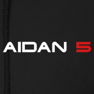 Design ~ Aidan 5 Men's Zipper Hoodie