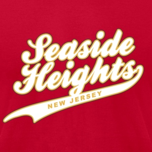 Seaside Heights New Jersey T-Shirts - Men's T-Shirt by American Apparel