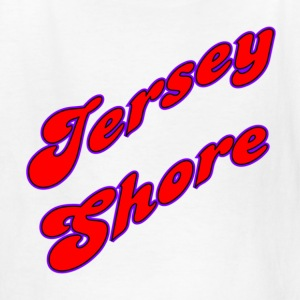 White Jersey Shore Kids' Shirts - Kids' T-Shirt