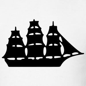 Sailing Ship 1c - Men's T-Shirt