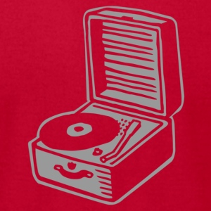 record player - Men's T-Shirt by American Apparel