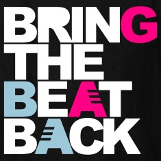 Black Bring The Beat Back Kids' Shirts