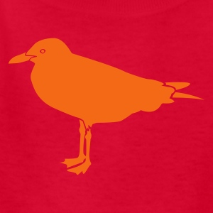 Red SEAGULL Kids' Shirts - Kids' T-Shirt
