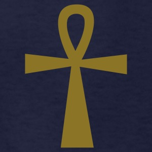 Navy ankh eternal life egyptian symbol Kids' Shirts - Kids' T-Shirt