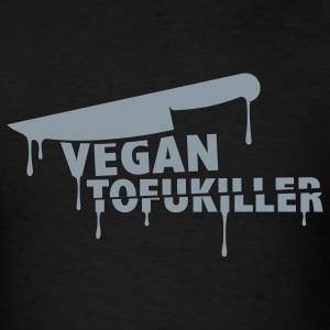 Black us_tofukiller T-Shirts - Men's T-Shirt