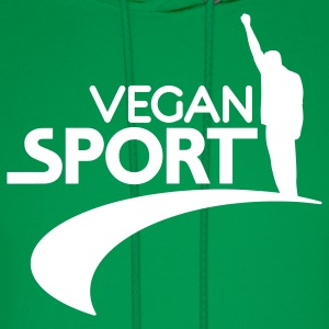 Green us_vegansport01 Hoodies - Men's Hoodie