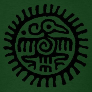 aztec eagle - Men's T-Shirt
