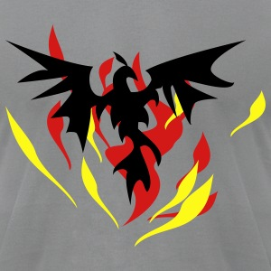 phoenix flames - Men's T-Shirt by American Apparel