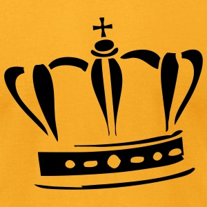 crown - Men's T-Shirt by American Apparel