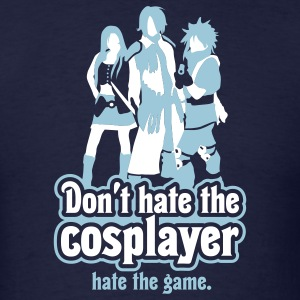 Cosplayer Hater - Men's T-Shirt