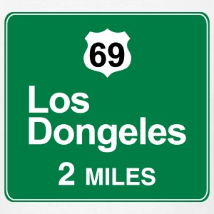 Los Dongeles - city of the Asses t-shirt - Men's T-Shirt